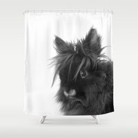bunny Shower Curtains featuring Bunny by Nature In Art...