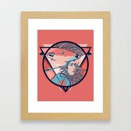 Im here Framed Art Print