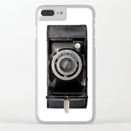 Vintage Agfa Camera Clear iPhone Case