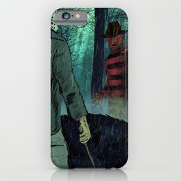 Freddy vs Jason iPhone Case