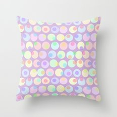Pastel Abstracts 1 Throw Pillow