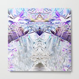 Diamond Light Consciousness Metal Print