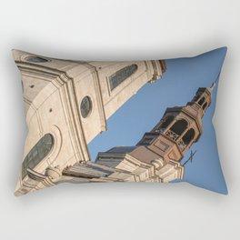 church old Qubec Rectangular Pillow