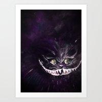 Madness in Purple Art Print