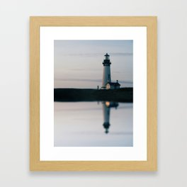 untitled (oregon coast) Framed Art Print