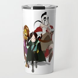 """Run Away!"" - Dungeons & Doritos Travel Mug"