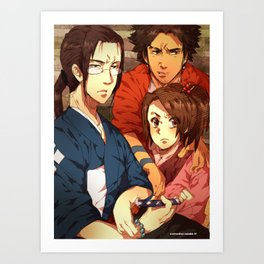 in the way of the samurai Art Print