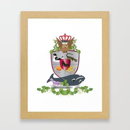 Coat of Arms 2 Framed Art Print