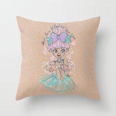 Love Love Love Little Heart Throw Pillow
