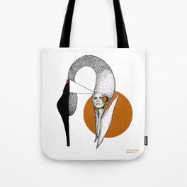 Shoe Swan Tote Bag