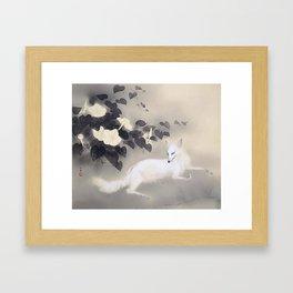 Hashimoto Kansetsu Summer Evening 1941 Framed Art Print