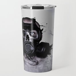 Zombie Warrior Travel Mug
