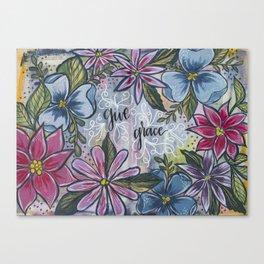 Give Grace Canvas Print