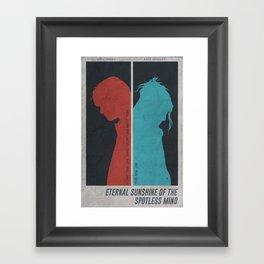 Eternal Sunshine of the Spotless Mind - Poster Framed Art Print
