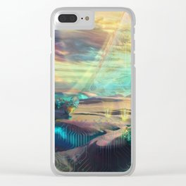 Mechanical life Clear iPhone Case
