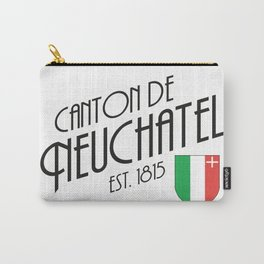Canton of Neuchatel Carry-All Pouch