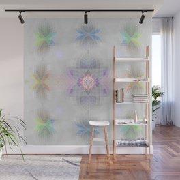 Pastel Kalidescope Sacred Geometry Quilt Print Wall Mural