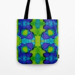 Purple and green dreams Tote Bag