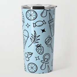 Pacify Me Blue Travel Mug