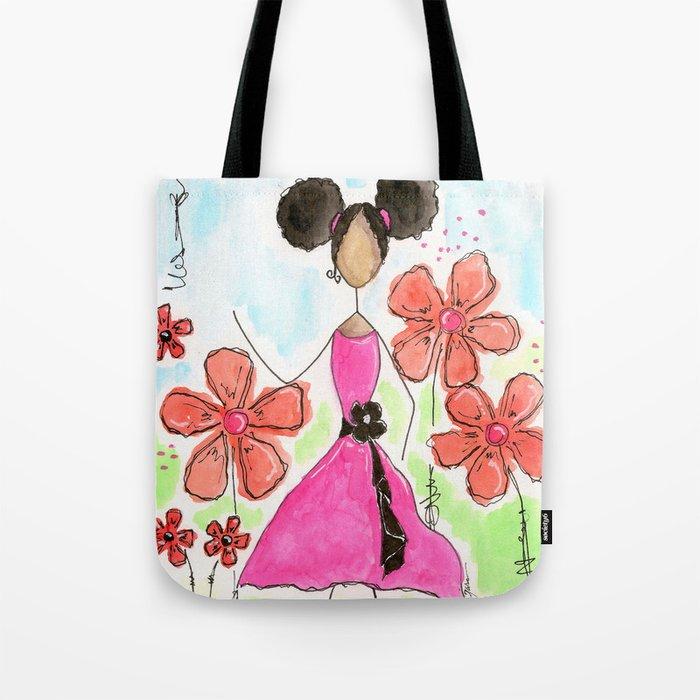 Tia, Hey Girl! Tote Bag