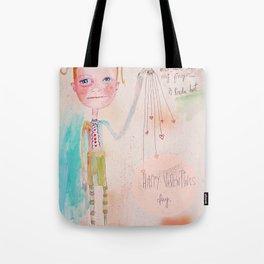 The Awkward Valentine Tote Bag