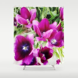 Tulips of Abbotsford Shower Curtain