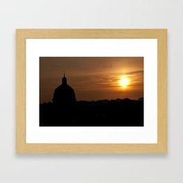 Untitled (Roman Sunset) Framed Art Print