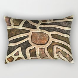 Ancestry / Map Rectangular Pillow