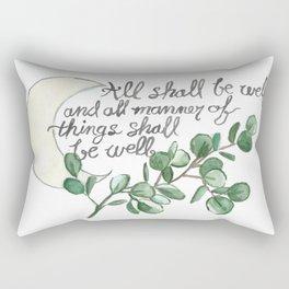 All Shall Be Well Rectangular Pillow