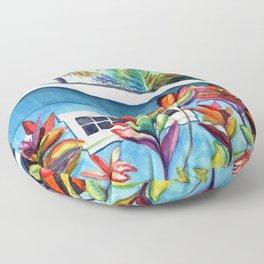 Hanalei Cottage Floor Pillow