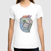 ducks T-shirts featuring Ducks by Inez Gulyas