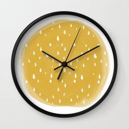 Sun Shower Wall Clock