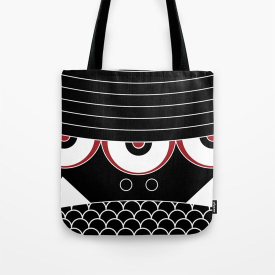 MONSTER FACE 01 Tote Bag