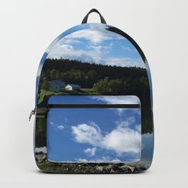 Calm Coastal Summer Backpack