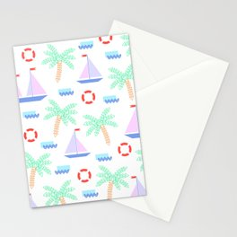 Mosaic summer 03 Stationery Cards