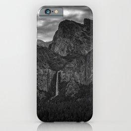 Tunnel View Black & White Yosemite National Park California Landcape iPhone Case