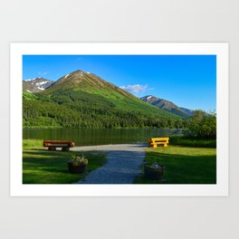 Summit Lake - Kenai Peninsula, Alaska Art Print
