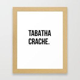 Tabatha Framed Art Print