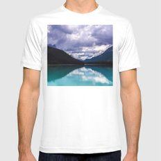 Undo this storm and wait White 2X-LARGE Mens Fitted Tee