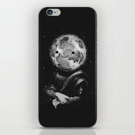 Moonalisa iPhone Skin