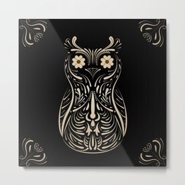 A wise bird the Owl. Metal Print