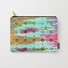 Moroccan Circles Carry-All Pouch
