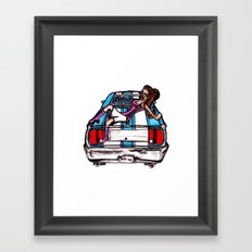 Classic BS  Framed Art Print