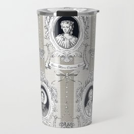 Science Women Toile de Jouy Travel Mug