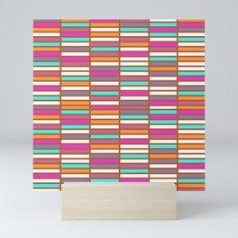 Color Grid 02 Mini Art Print