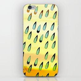 RainWater in the Desert - Tubes 2 iPhone Skin