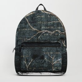The Most Ancient House of Black Tapestry Backpack