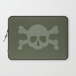 skull stripes Laptop Sleeve