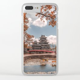 Crow Castle Clear iPhone Case