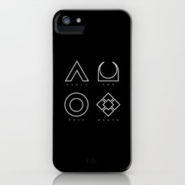 PAUSE – RAID iPhone Case